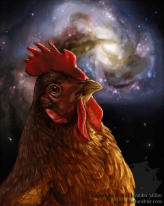 Cosmic Chicken
